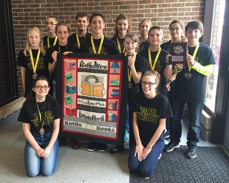 Battle of the Books Carteret County Champtions