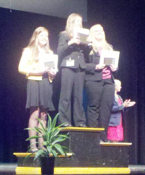 Caroline F, Third Place Public Speaking