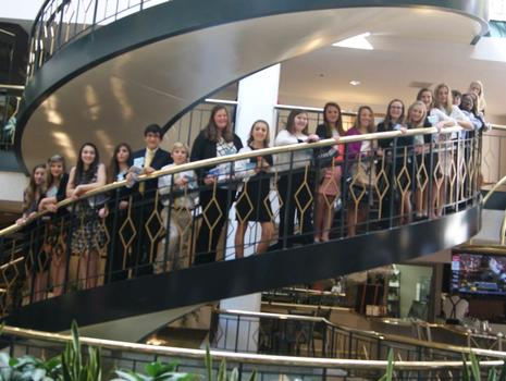 FBLA Staircase at Convention Center